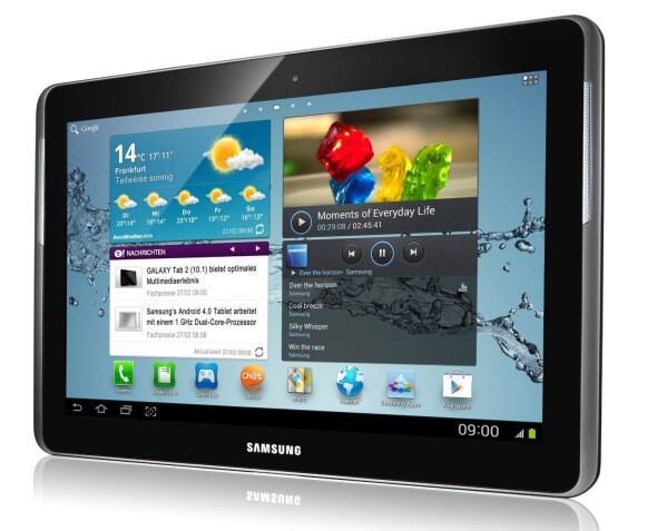 Samsung Galaxy Tab 2 10.1 WiFi für 260 Euro bei Media Markt