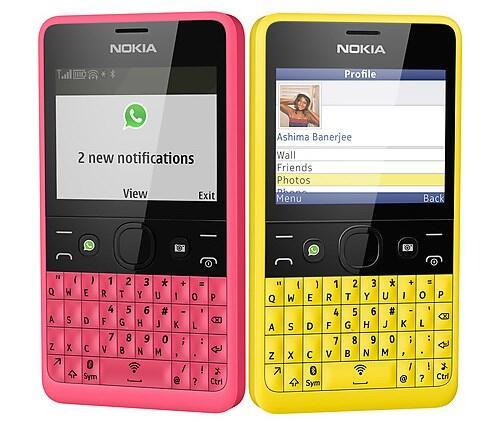 Nokia-Asha-210-social
