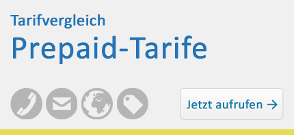 Tarifvergleich – Prepaid-Tarife