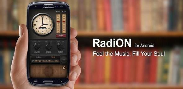 radion header
