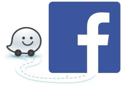 facebook waze