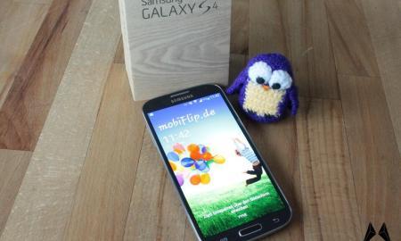 Samsung Galaxy S4 Header