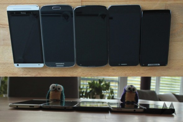 Vergleich Alcatel One Touch Idol Nexus 4 Galaxy S4 Razr i HTC One