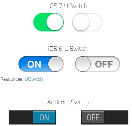ios android ui