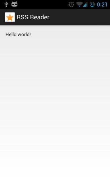 MobiFlip - RSS Reader - E1 - App Screenshot