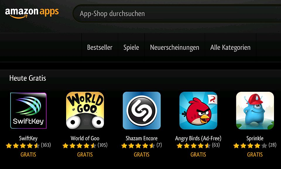 android 10 gratis apps im amazon appstore. Black Bedroom Furniture Sets. Home Design Ideas