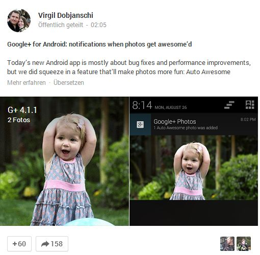 Google Plus awesome