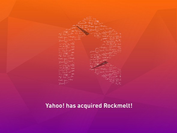rockmelt yahoo