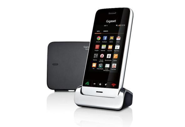 gigaset sl930a dect heimtelefon mit android betriebssystem. Black Bedroom Furniture Sets. Home Design Ideas