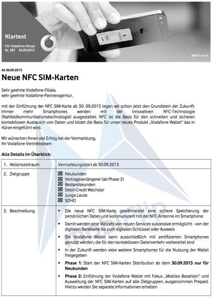 NFC-SIM-Karten
