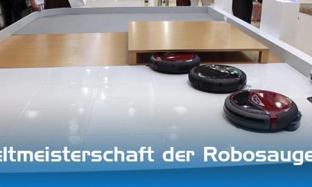 Weltmeisterschaft der Robosauger