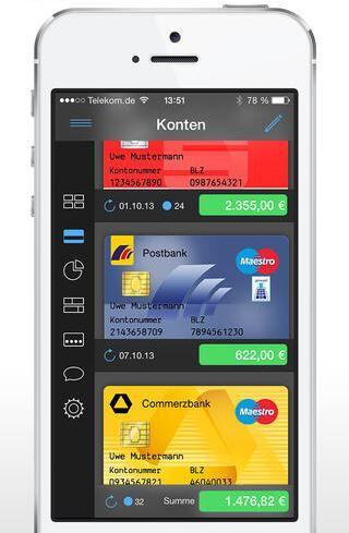 finanzblick - Onlinebanking ios 7