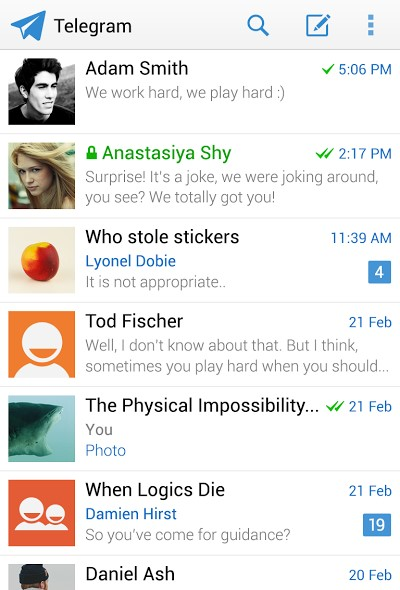 telegram messenger android 2