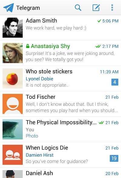 telegram messenger android 2