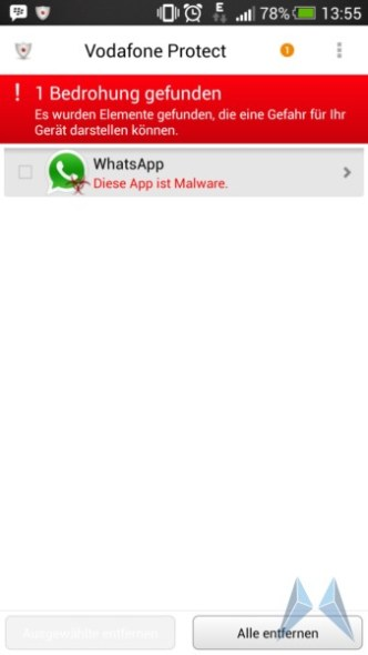 whatsapp virus malware