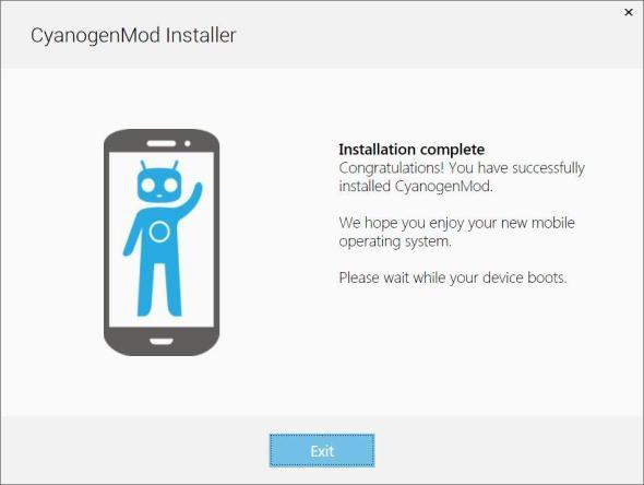 CYNGNMD Installation Congratulations