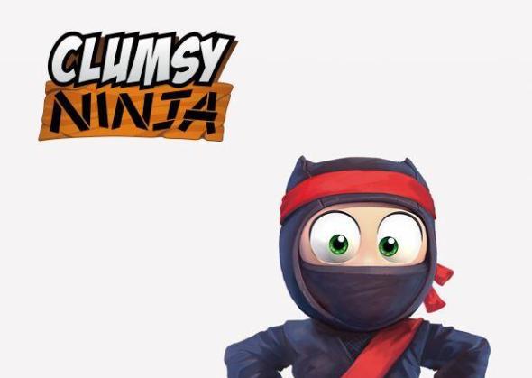 Clumsy Ninja Header