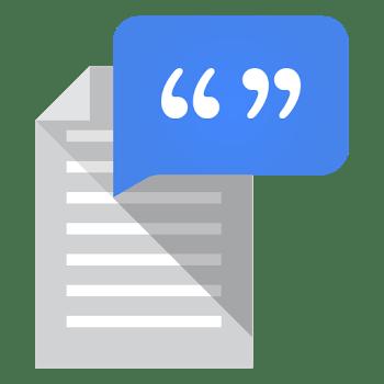 Google Text-in-Sprache