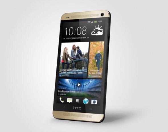HTC One Golden 34 front left (1) 3