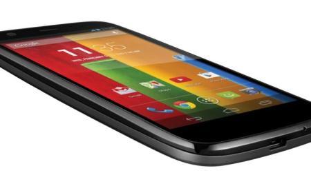 Moto G Front screen black 8