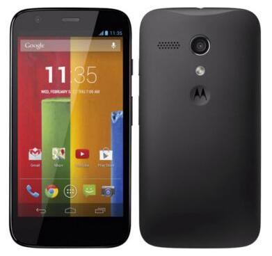 Motorola Moto G Bottom