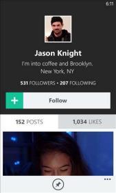 Vine Windows Phone Screenshots (1)