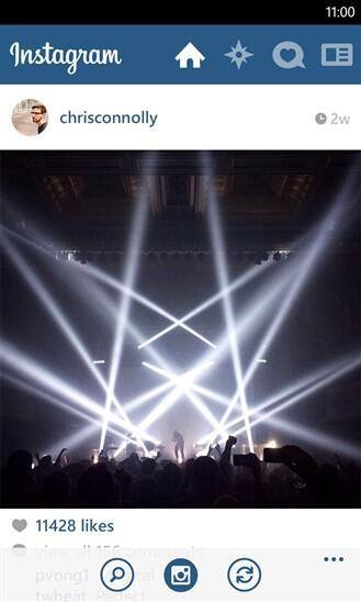 instagram wp8 1
