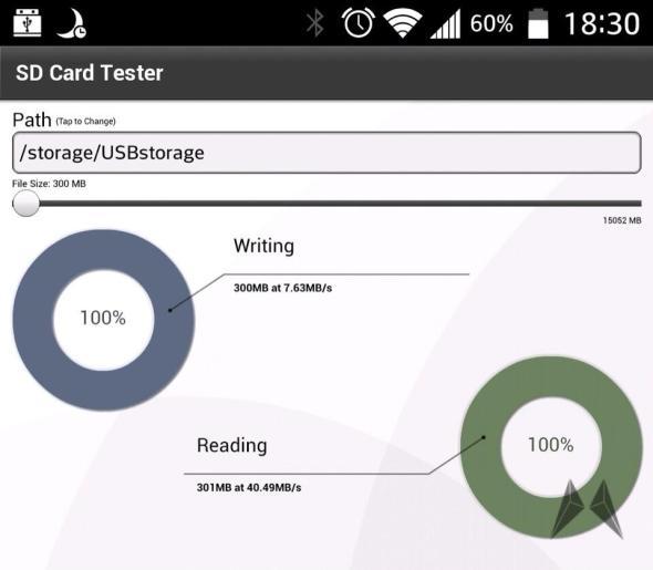 ADATA SD Card Tester