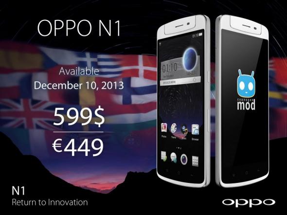 Oppo N1 Europa