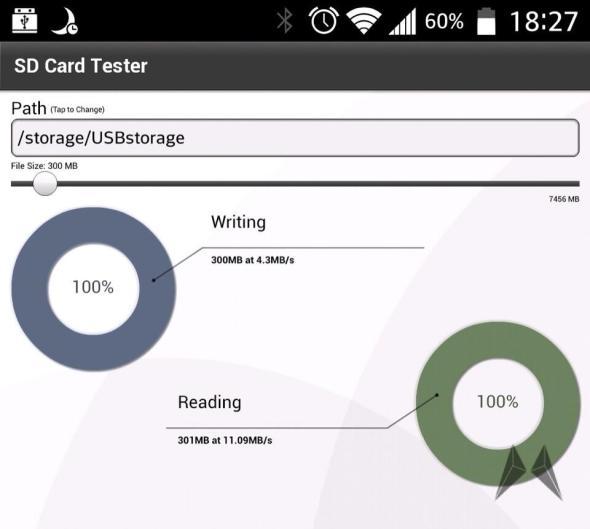 PhotoFast SD Card Tester