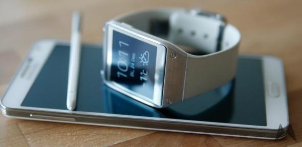 Samsung Galaxy Gear Sm V700 Erhalt Update Auf Tizen