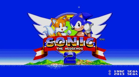Sonic 2 Header