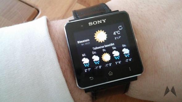 Sony Smartwatch 2 Remote Widget