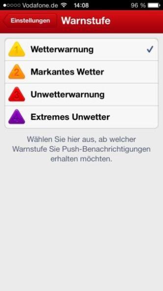 WetterAlarm iOS (1)