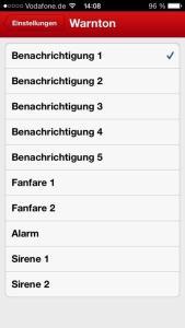 WetterAlarm iOS (2)