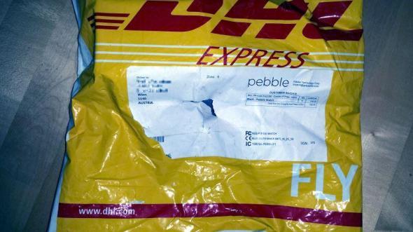 pebble dhl