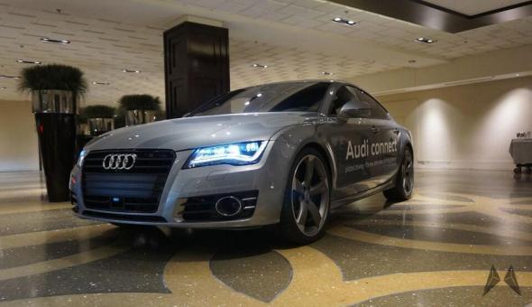 Audi Polited Driving