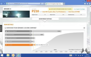 Dell Venue 8 Pro Benchmark mobiFlip Screenshot