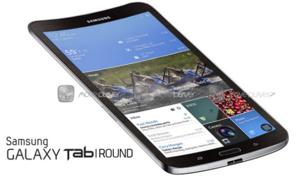 Samsung Galaxy Tab Round Konzept