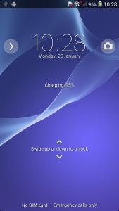Sony D6503 Screen 3