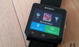 Sony Smartwatch 2 SmartSquare