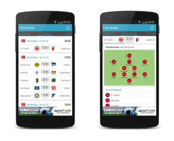 Sport1 Android