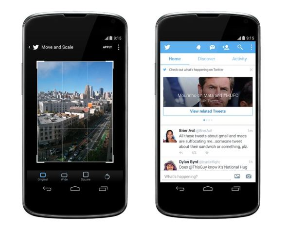 Twitter Android Update