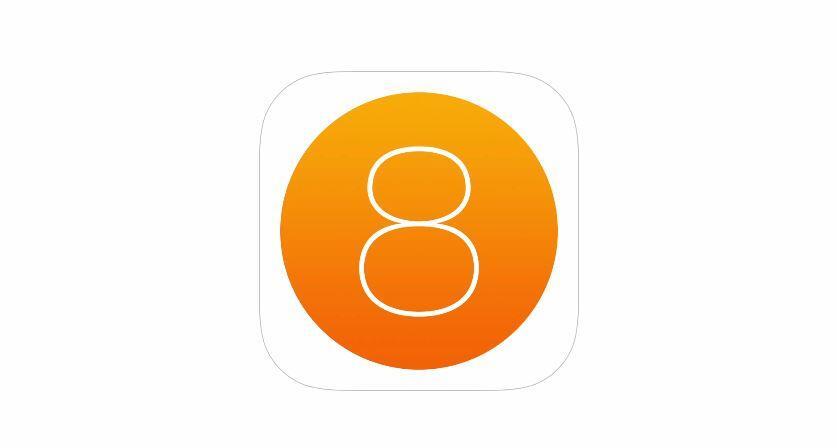iOS 8 Icon Logo Header