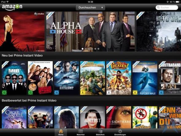 Amazon Prime Instant Video iPad App (5)