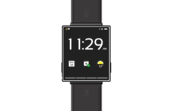 Google Smartwatch Konzept Header