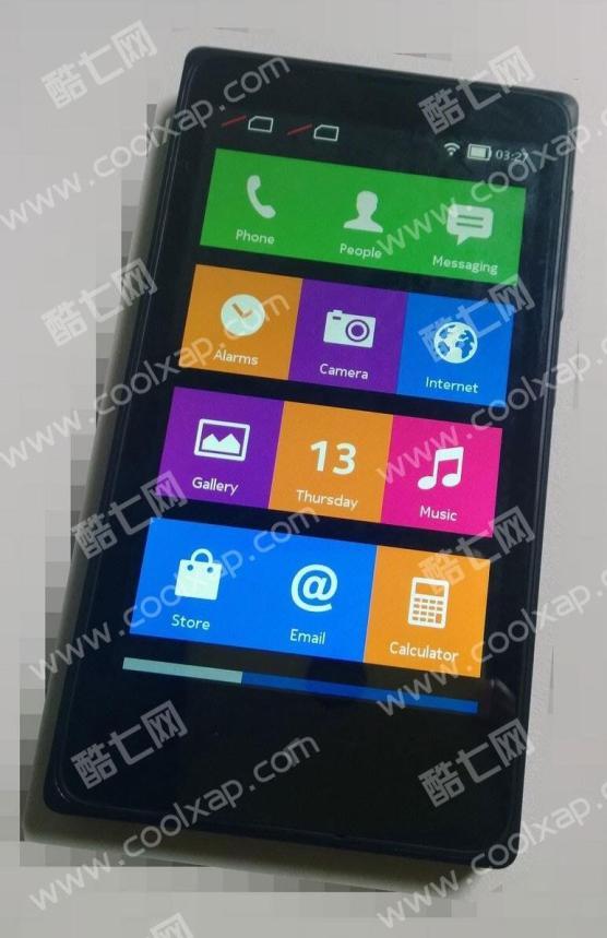 Nokia X Foto