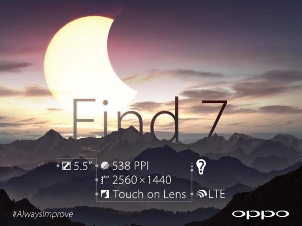 Oppo Find 7 Details