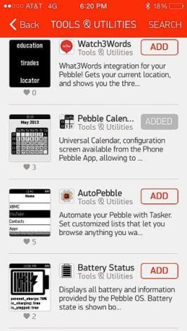 Pebble App Store 02