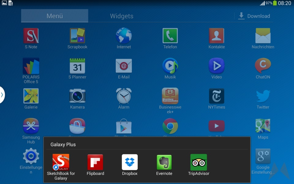 Samsung Galaxy Note 10.1 2014 Edition Screenshot (17)